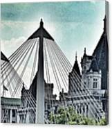 Fantasy London . Old Spires New Canvas Print