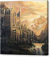 Fantasy Study Canvas Print