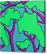 Fantasy Trees Canvas Print