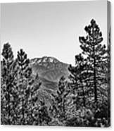 Far Side Of The Mountain Canvas Print