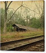 Far Side Of The Tracks Canvas Print