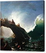 Farallon Island Canvas Print