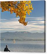 Farewell To The Lake Canvas Print