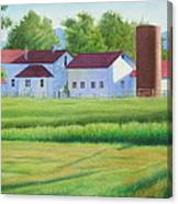 Farm At Willow Creek Canvas Print