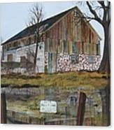 Farm Auction Canvas Print