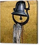 Farm Bell Canvas Print