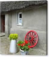 Farm Cottage Canvas Print