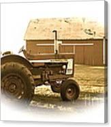 Farm Heritage Vignette  Canvas Print