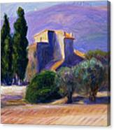 Farm House In Provence Canvas Print