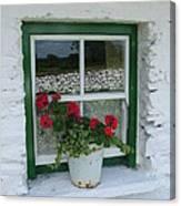 Farm House Window Canvas Print