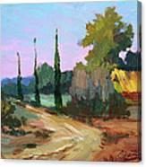 Farm In Provence Canvas Print