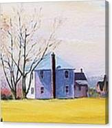 Farm In Spring Canvas Print