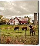Farm Living Canvas Print