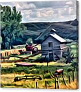 Farm Look Canvas Print