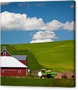 Farm Machinery Canvas Print