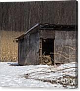 Farm Shed Canvas Print