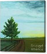 Farm Sunrise Canvas Print