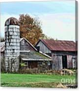 Farm - The Old Barn Canvas Print