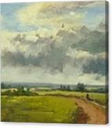Farm Track Kent Canvas Print