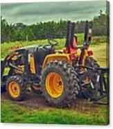 Farm Tractor Canvas Print