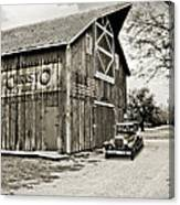 Farm Transport Canvas Print