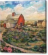 Farm Woman Canvas Print