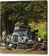 Farm Yard Canvas Print