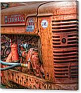 Farmall Tractor Canvas Print