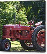 Farmall's End Of Day Canvas Print