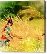 Farmers Fields Harvest India Rajasthan 1a Canvas Print
