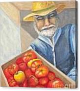 Farmer's Market Canvas Print