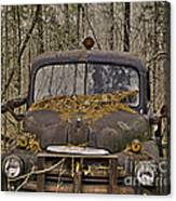 Farmers Old Work Truck Canvas Print