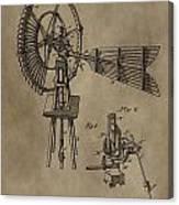 Farmer's Windmill Canvas Print