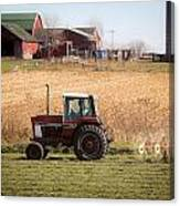 Farmer's Work Is Never Done Canvas Print