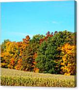 Farmfield Fall Canvas Print