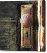 Farmhouse Doorknob Canvas Print