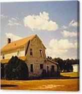 Farmhouse Landscape Canvas Print