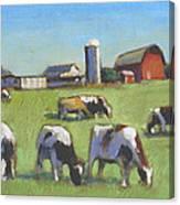 Farming In The Dell Canvas Print