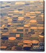 Farming In The Sky 2 Canvas Print