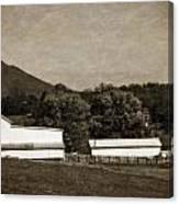 Farming The Shenandoah  Canvas Print