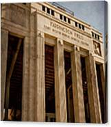 Farrington Field Facade Canvas Print