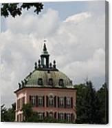 Fasanen Schloesschen Germany    Pheasant Palace  Canvas Print