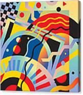 Fascinating Rhythm 5 Canvas Print