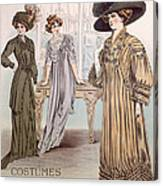 Fashion Advert For Eloy Mignot Canvas Print