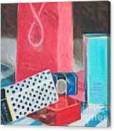 Fashion Boxes Canvas Print