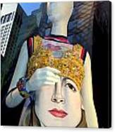 Fashion Face Canvas Print