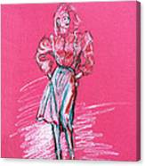 Fashion Figure Canvas Print