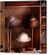 Fashion - Hats On Sale Canvas Print