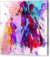 Fashion Models 6 Canvas Print