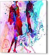 Fashion Models 8 Canvas Print